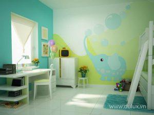 Dulux_BST Phòng đẹp cho bé